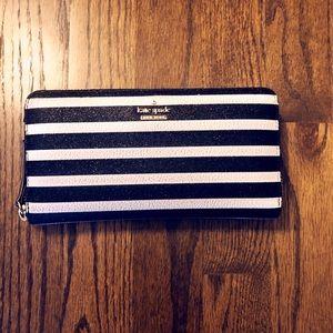 Kate Spade Striped Street Wallet